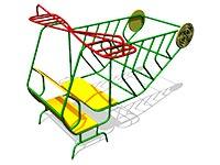85)Игровой макет «Вертолет»