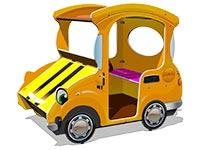 3664)Игровой макет «Машинка-Жук М1»