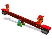 3691)Качалка-балансир «Лошадки»