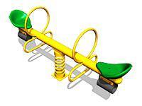 3472)Качалка-балансир на пружине «Стрела»