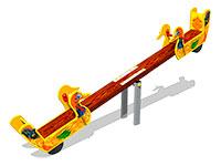 3512)Качалка-балансир «Утки У1»