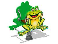 3478)Качалка на пружине «Лягушонок У1»