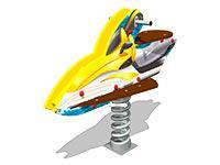 3488)Качалка на пружине «Скутер У2»