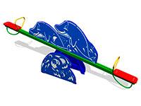 24)Качалка-балансир «Дельфины»