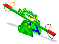 22)Качалка-балансир «Лягушка»
