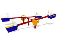 44)Качалка-балансир «Моряк 2»