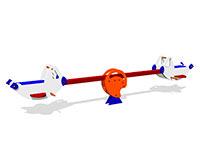 36)Качалка-балансир «Пилот»