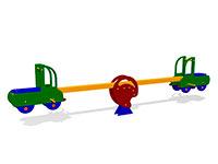 31)Качалка-балансир «Водитель»