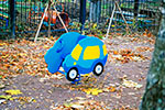Фото 1 качалки на пружине «Автомобиль» эскиз