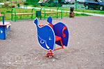 Фото 1 качалки на пружине «Кит» эскиз