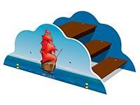 3650)Лаз «Алые паруса»