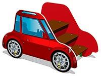 3654)Лаз «Машинка Жук»