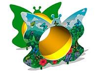 80)Лаз «Труба-Бабочка»