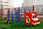 Фото 1 макета-комплекса «Пожарная машина» превью