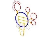 197)Мишень для бросания мяча «Петушок»