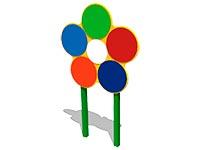 2339)Мишень для бросания мяча «Семицветик»