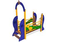 3039)Мост подвесной «Динозаврик»