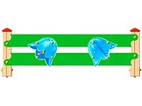 3549)Ограждение детской площадки «Колокольчик У1»