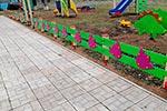 Фото 1 ограждения детской площадки «Колокольчик», превью