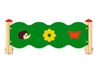 3357)Ограждение детской площадки «Лесная полянка»
