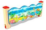 Вид 1 ограждения детской площадки «Морское Царство У2», превью