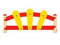 3371)Ограждение детской площадки «Солнышко»