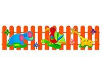 305)Ограждение детской площадки «Африка»