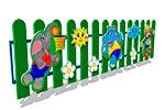 Вид ограждения детской площадки «Игра», превью