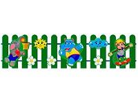 303)Ограждение детской площадки «Игра»