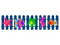 304)Ограждение детской площадки «Море»