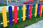 Фото 1 ограждения детской площадки «Спектр» превью