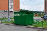 Фото 1 ограждения мусоросборника 2П превью