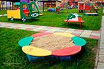 Фото 1 детской песочницы «Ромашка» превью