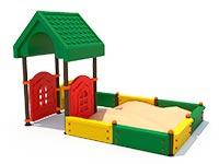 3421)Песочный дворик ППД-020