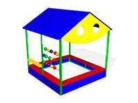56)Песочный домик «Магазин»
