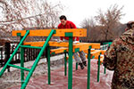 Фото 3 препятствия «Разрушенная лестница» эскиз