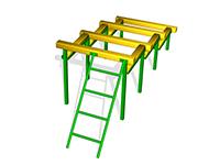 220)«Разрушенная лестница»
