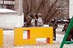 Фото 4 препятствия «Стенка с двумя проломами» превью