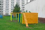 Фото 2 препятствия «Забор с наклонной доской» превью
