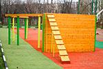 Фото 3 препятствия «Забор с наклонной доской» превью