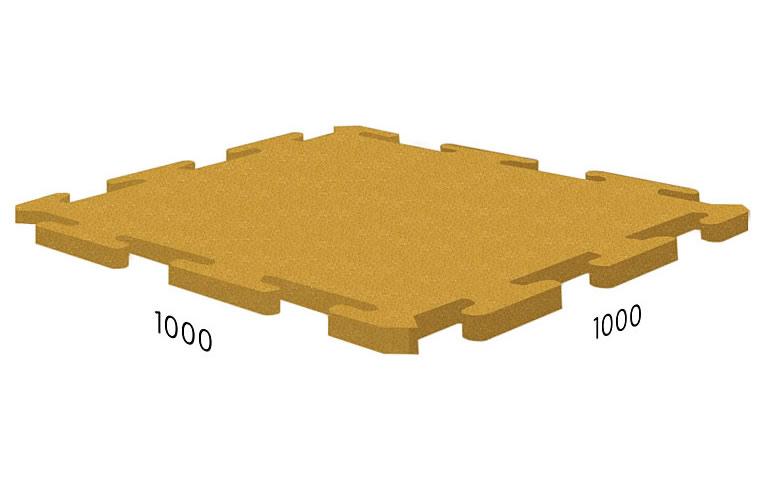 3535)RUBBLEX Roof Puzzle 1000x1000