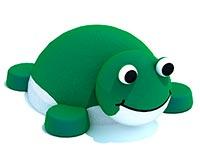 3425)Резиновая фигура «Лягушка» для детских садов и площадок
