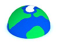 3452)Объемный элемент для парков и детских площадок «Планета»