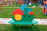 Фотография скамейки детской «Грибок» превью