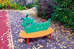 Фото 1 скамейки детской «Гусеница» превью