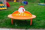 Фото 1 скамейки детской «Курочка Ряба» эскиз