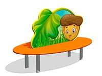248)Скамейка детская «Желудь»