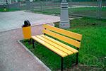 Фото 1 скамейки парковой ДП3 превью