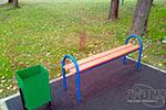 Фото 1 схемы монтажа скамейки парковой М19 превью
