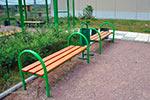 Фото 1 скамейки парковой М1 эскиз
